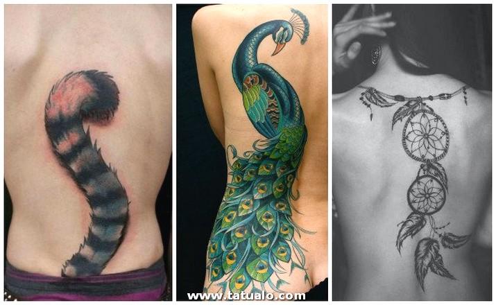 Tatuajes En La Espalda Abajo