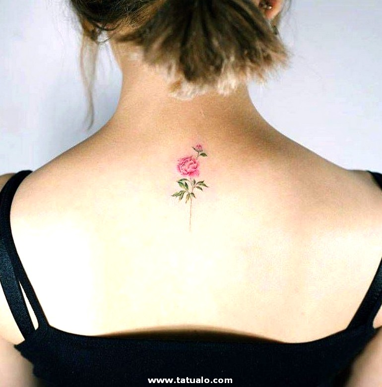 Tatuajes En La Espalda Pequenos 2