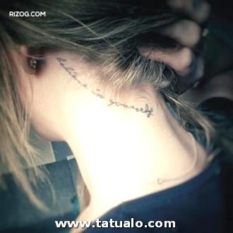 Tatuajes En La Nuca Para Mujeres Frases 300x300
