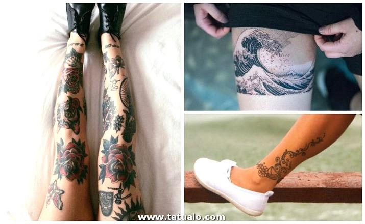 Tatuajes En La Pierna (1)