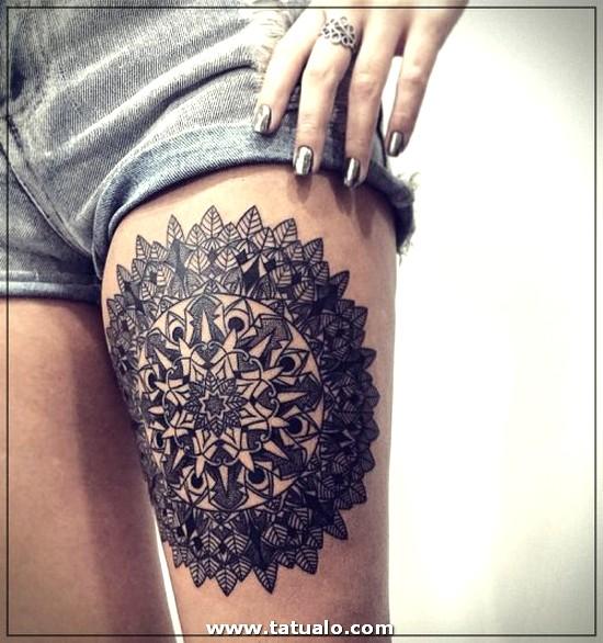 Tatuajes En La Pierna Mujeres Frases 500x533