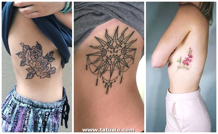 Tatuajes En Las Costillas Plumas