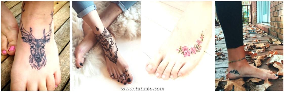 Tatuajes En Los Pies Mandalas
