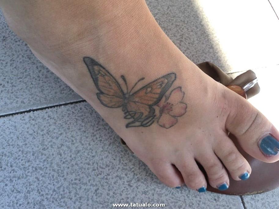 Tatuajes En Los Pies Para Mujer