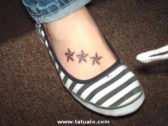 Tatuajes Estrellas Pie 3