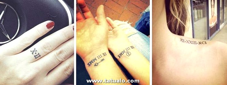 Tatuajes Fechas