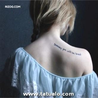 Tatuajes Hombro Mujer Frases Fotos 300x300