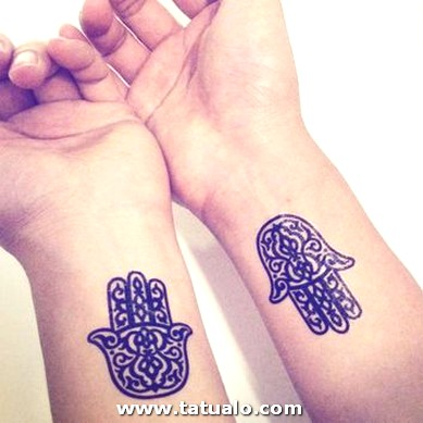 Tatuajes Mano Fatima Muneca Pequenos