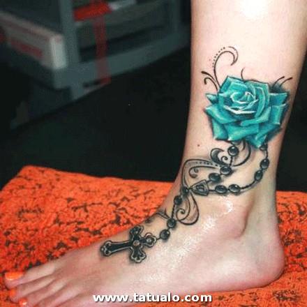 Tatuajes Mujeres En El Pie