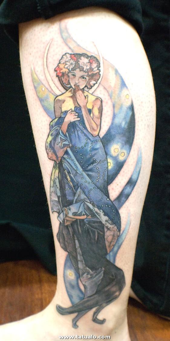 Tatuajes Para Las Piernas 6