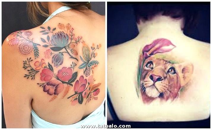 Tatuajes Para Mujer Espalda