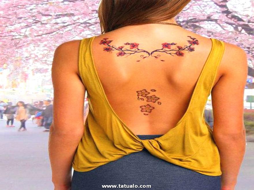 Tatuajes Para Mujeres Bonitas En La Espalda