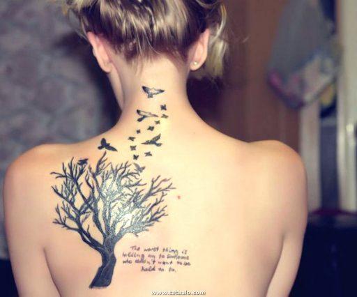 Tatuajes Para Mujeres En Espalda