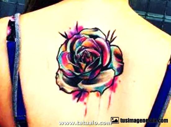 Tatuajes Para Mujeres En La Espalda 55