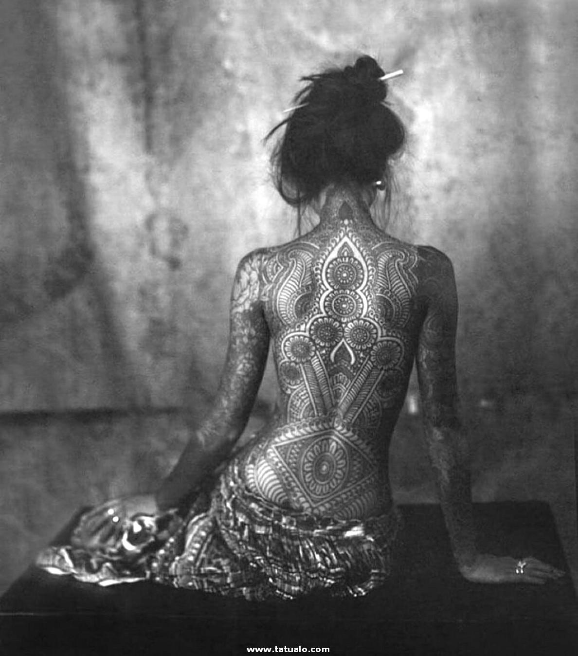 Tatuajes Para Mujeres En La Espalda Dss