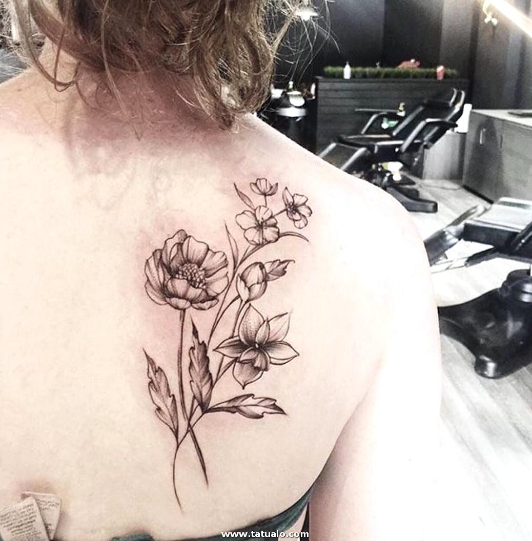 Tatuajes Para Mujeres En La Espalda Vewsd