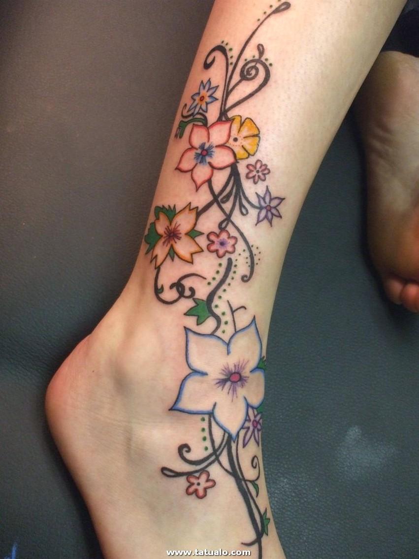Tatuajes Para Mujeres En La Pierna 26418