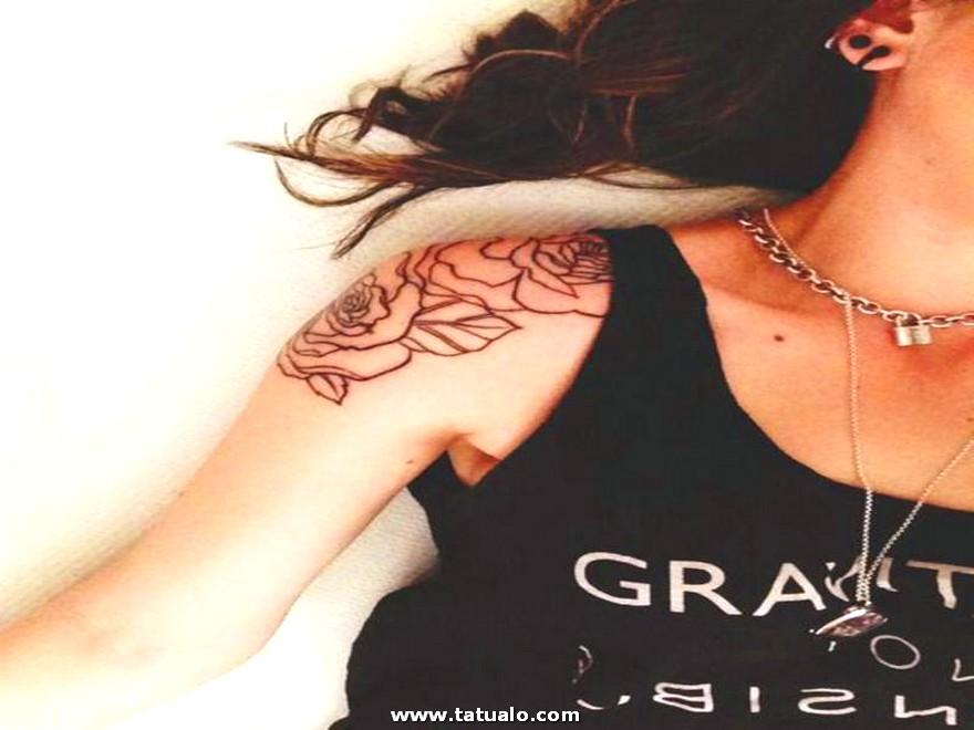 Tatuajes Para Mujeres Lindas De Rosas