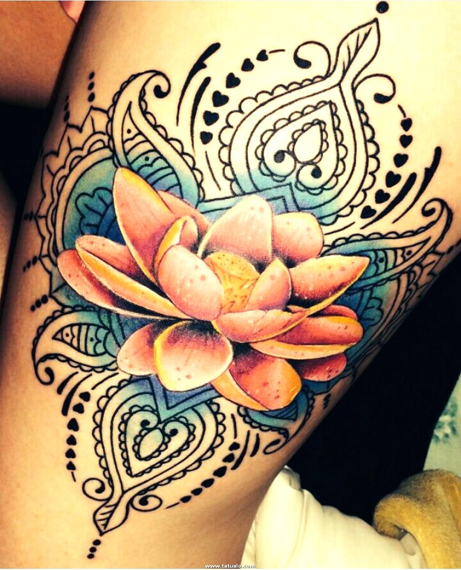 Tatuajes Para Mujeres Loto 1