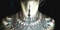 Tatuajes Para Mujeres Pecho Cuello Lindos 6