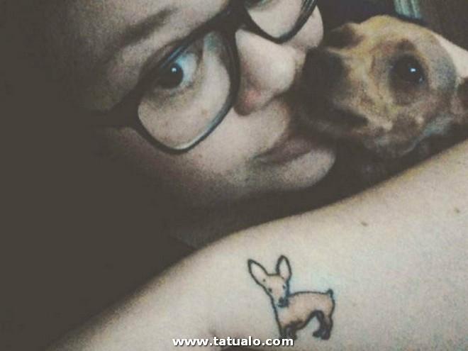 Tatuajes Para Mujeres Pequenos Perro 600x450