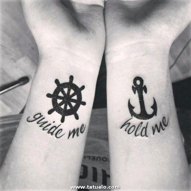 Tatuajes Para Parejas Las Anclas Del Amor 195822 En Pareja T Tattoo Tattos
