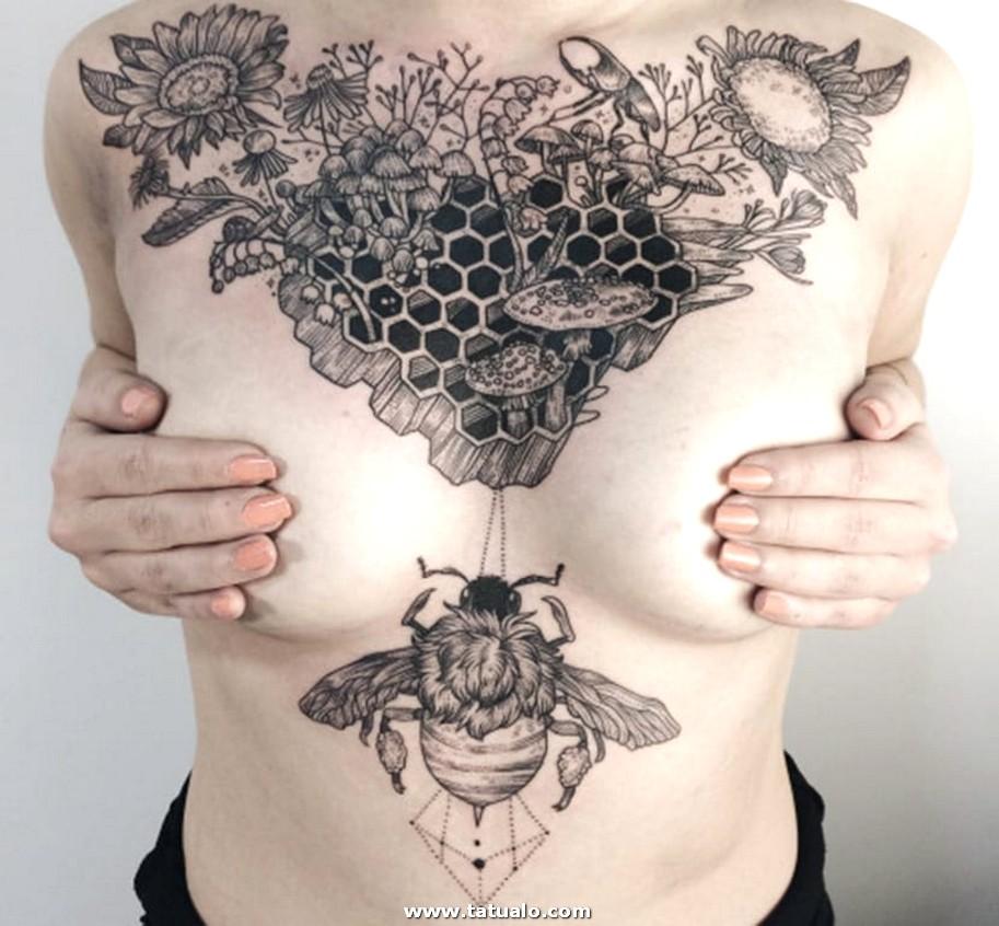 Tatuajes Pecho 2