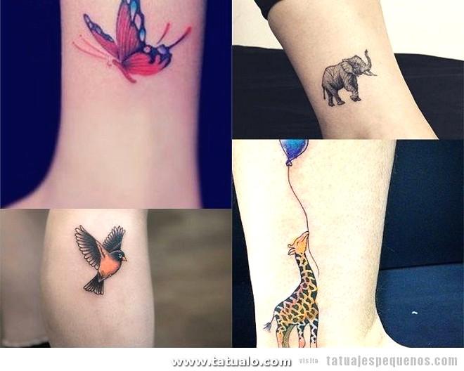 Tatuajes Pequenos Pierna Mujer 600x480