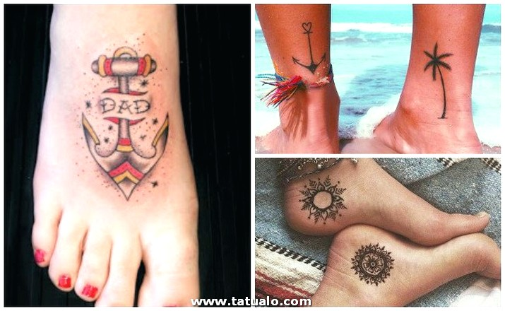 Tatuajes Pie Para Mujer