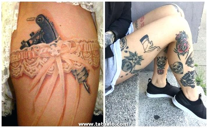 Tatuajes Pierna Entera