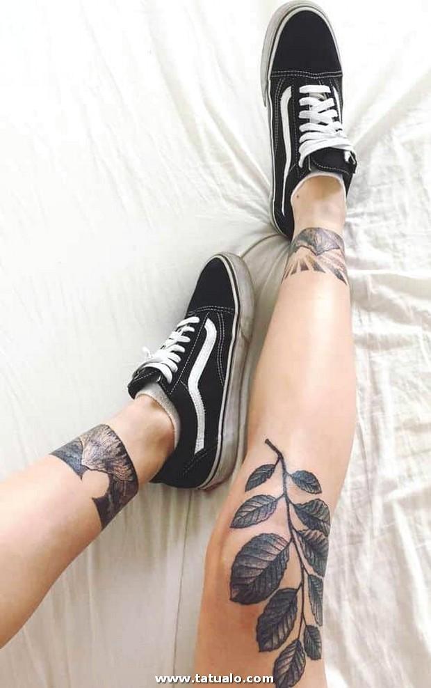 Tatuajes Piernas Mujeres 5