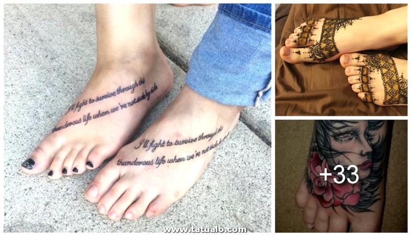 Tatuajes Pies Face