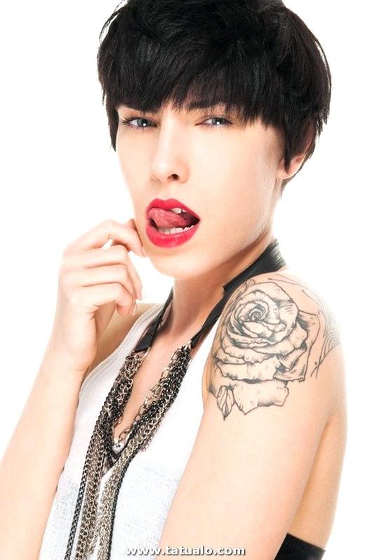 Tatuajes Sexy 2018 Tatuaje Hombro Flor