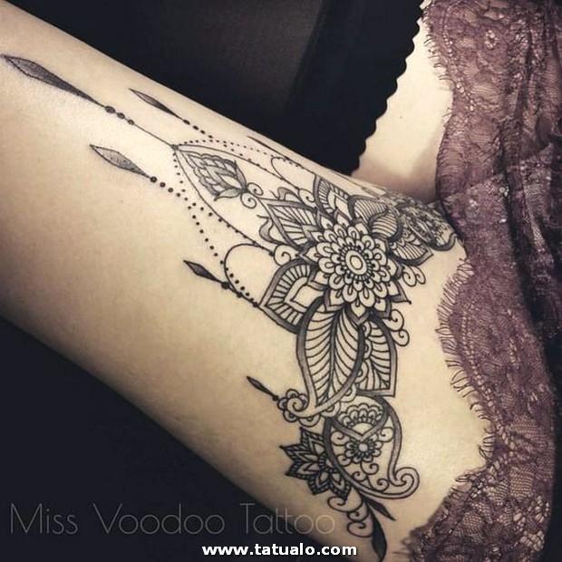 Tatuajes Sexy Piernas Mujer 12