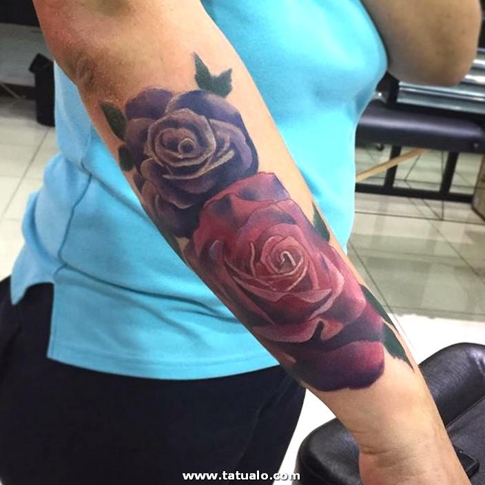Tatus Flor Rosas Ante