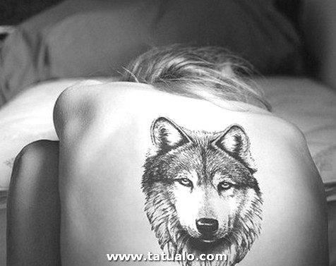 Wolf Tattoo Designs Back