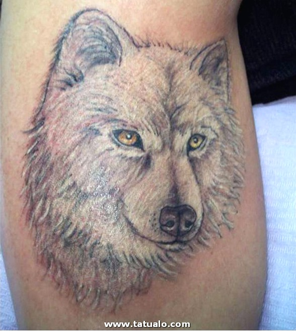 Wolf Tattoo Designs For Women 2
