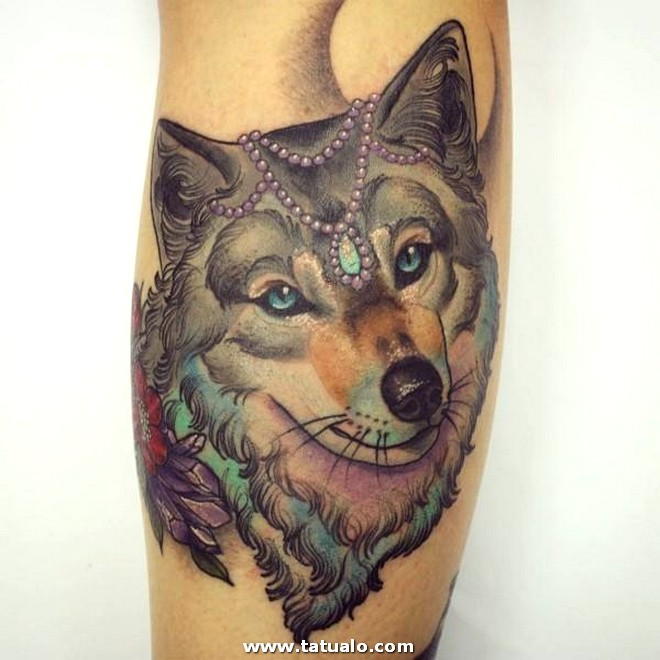 Wolf Tattoo Meaning Women Tattoo