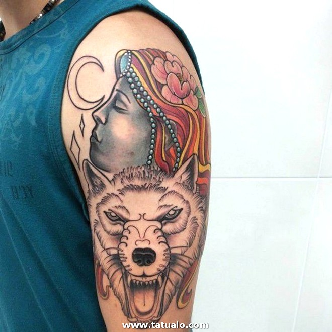 Wolf Tattoos 12031788