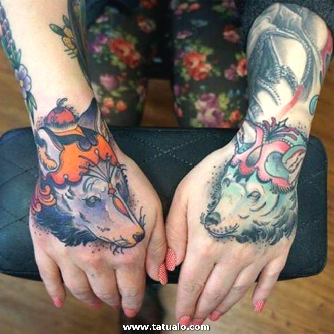 Wolf Tattoos 12031789