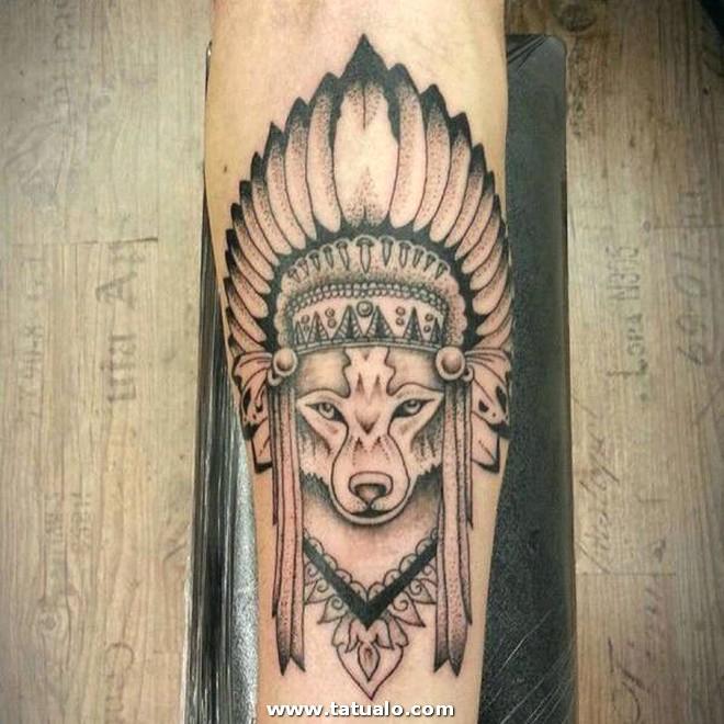 Wolf Tattoos 12031792