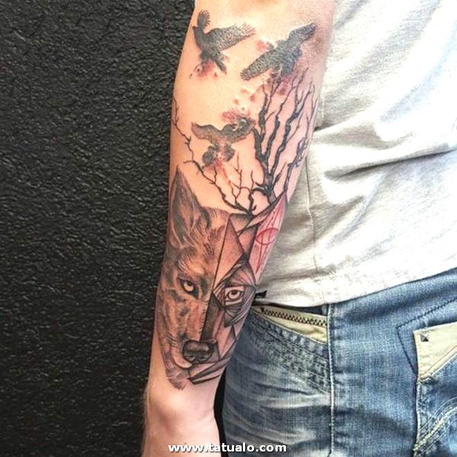 Wolf Tattoos 12031793