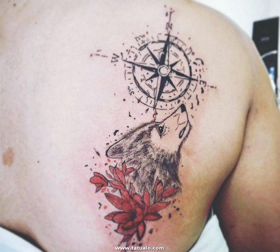 Wolf Tattoos 22 889x800