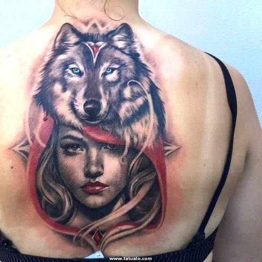 Wolf Tattoos 33