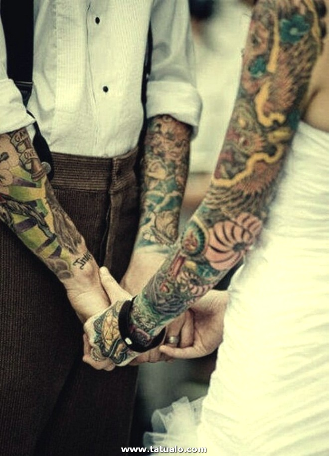 Couple Tattoo Designs 20