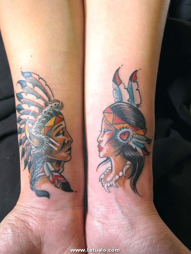 Couple Tattoo Designs 30