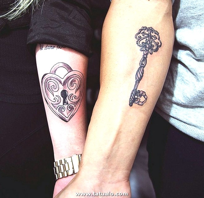 Couple Tattoo Designs 9