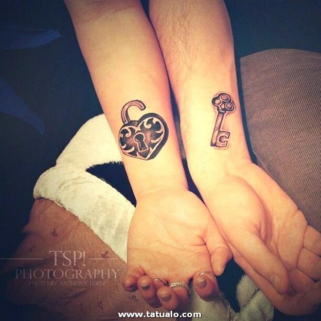 Cerradura Tatuajes Parejas