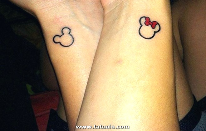 Disney Parejas Tattoos