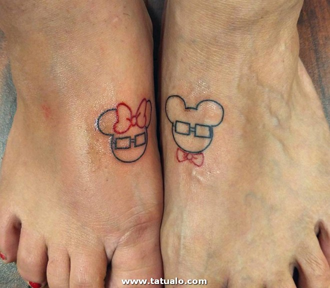 Tattoos Para Dos En Pies